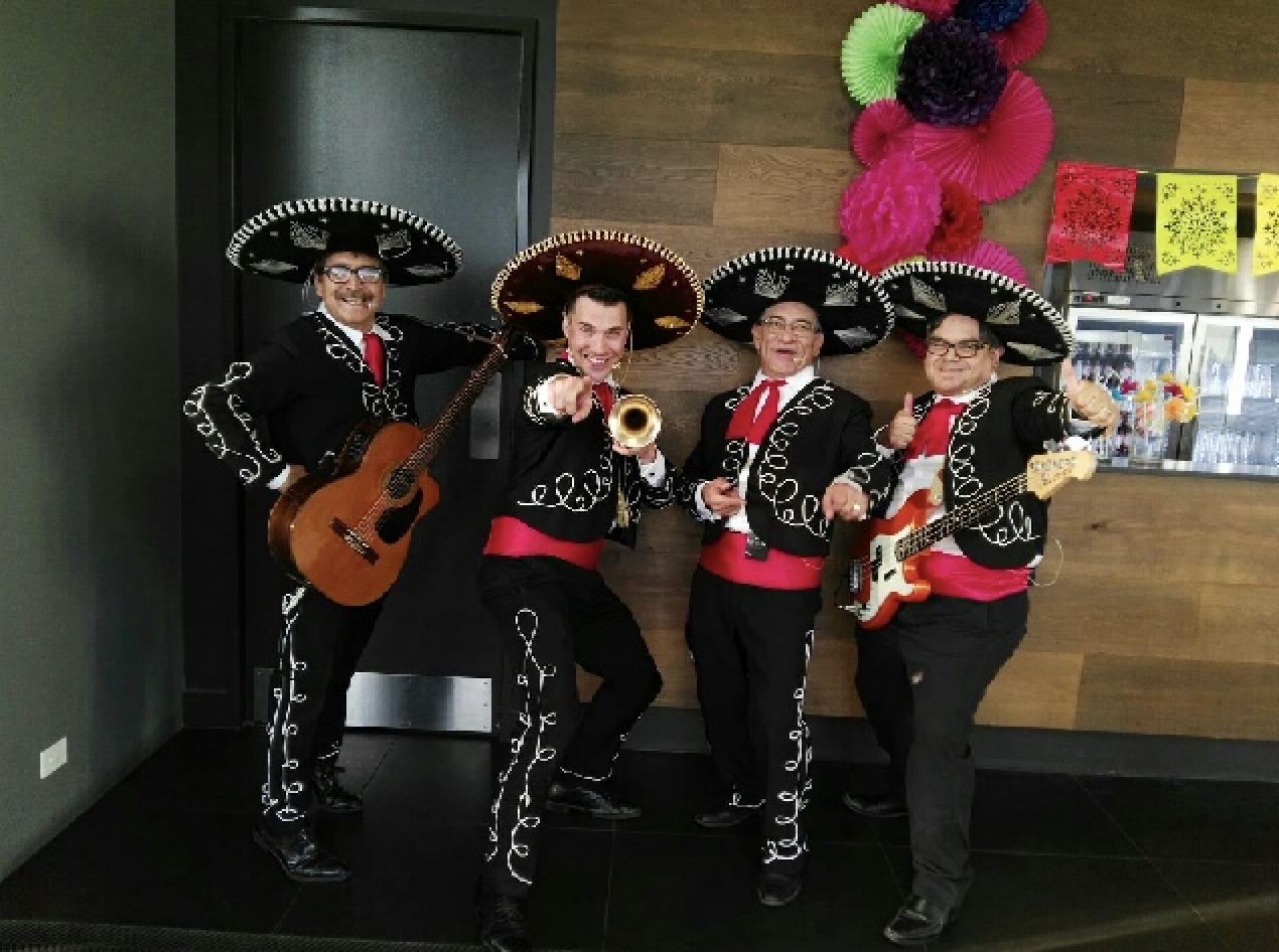 The Three Amigos were great with our pre-dinner drinks