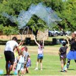 Kids entertainer circus workshop bubble man adelaide talent agency australia