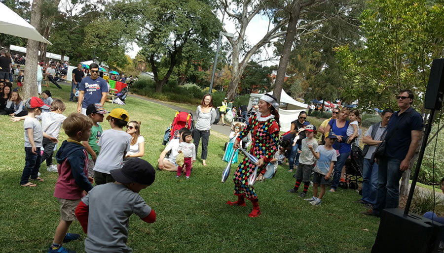 Children's Party Entertainment & Shows in Adelaide for Events