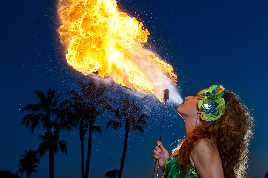 Fire Breather for hire in Adelaide