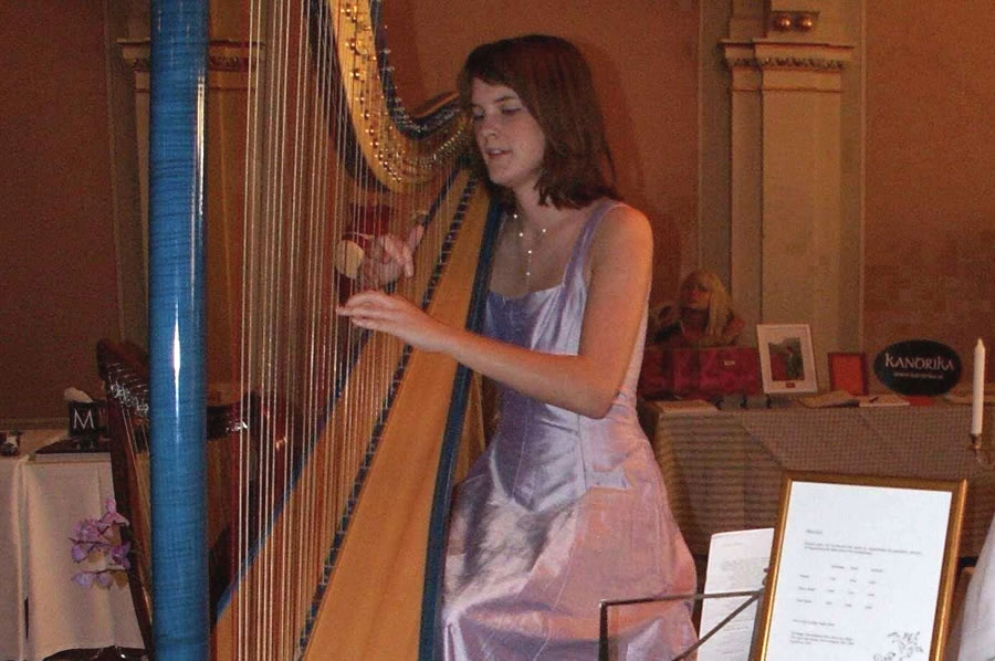 Harpist for hire in Adelaide